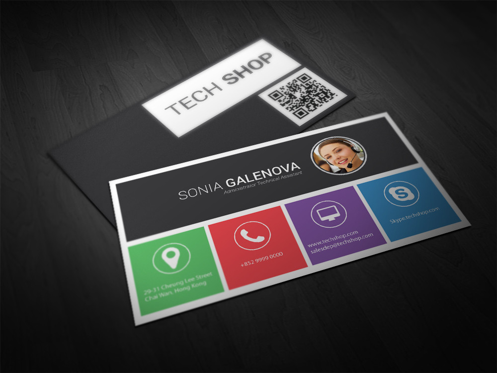 Premium Business Card Design Service – Double Infinity