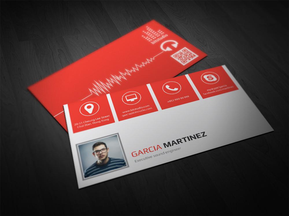 Premium Business Card Design Service – Double Infinity