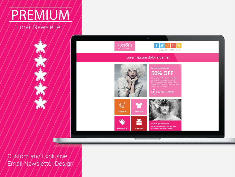 Premium Email Marketing Newsletter Design