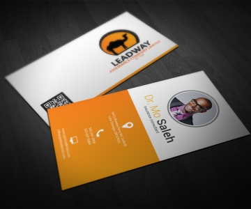 Lead Way Insurance Agent Business Cards