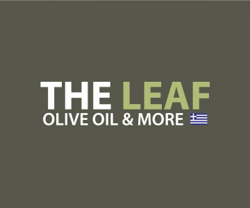 The Leaf Olive Oil Logo