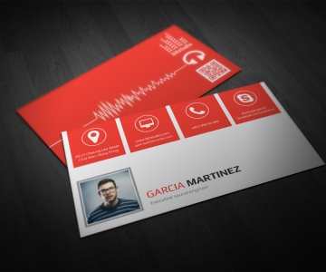 Radio Producer Business Card