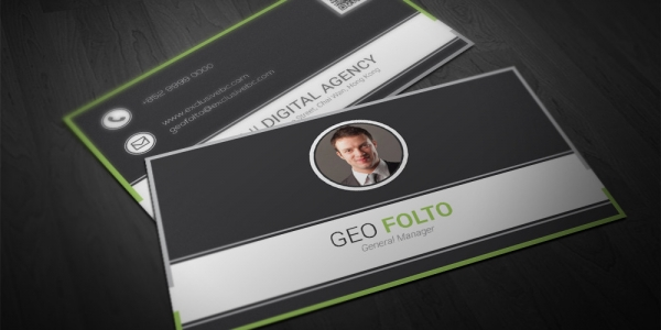 General Manager Business Card