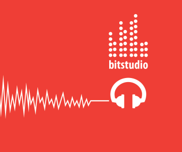 Bit Studio Music Production Logo