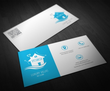 Luxury Villas Business Card